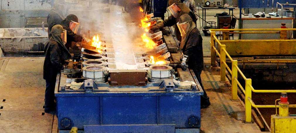 Aluminium giesserei